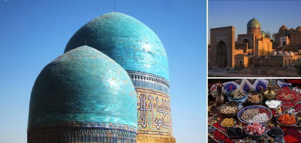 BLUE DOMES OF SAMARKAND
